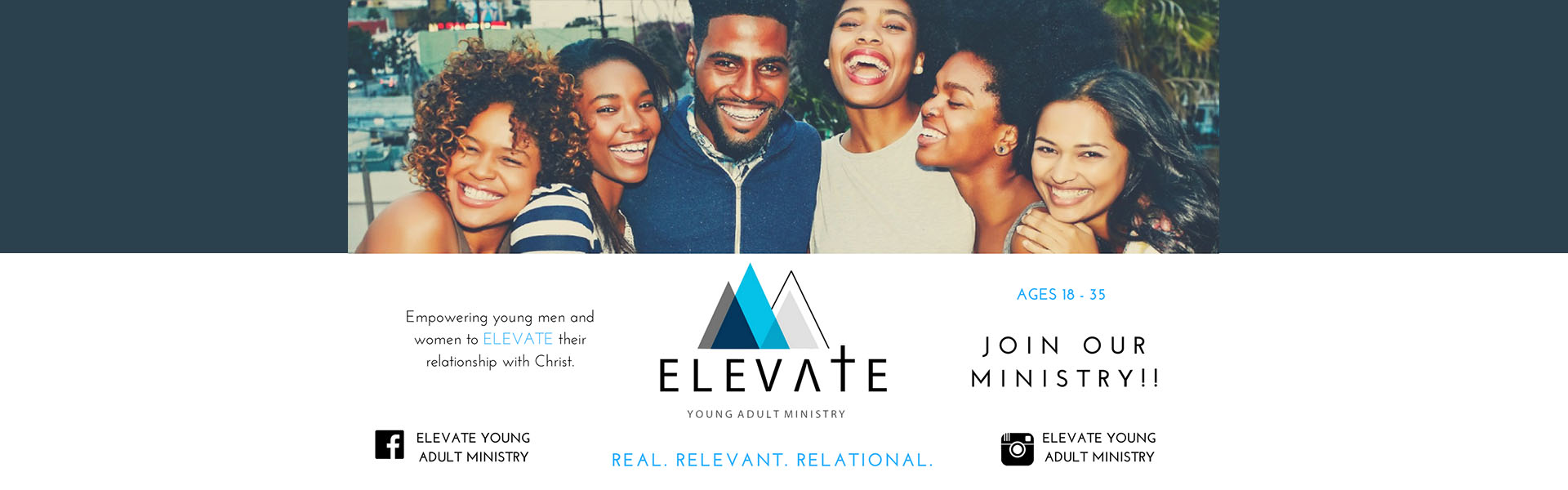 Elevate – Banner