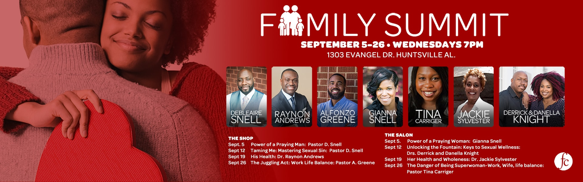 Family Summit Wed Night – Web Banner